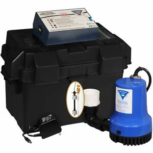 Pro series Phcc 1850 Battery Back Up Sump Pump 1850 Gph At 10