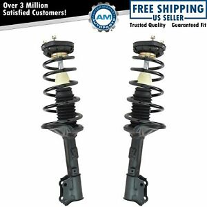Strut Spring Assembly Rear Pair Kit Set Of 2 For 00 06 Hyundai Elantra New
