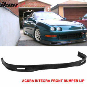 Urethane 94 97 Integra Spoon Front Bumper Lip Spoiler Body Kit 94 96