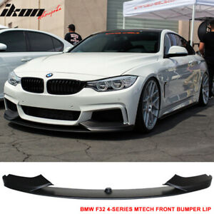 Fits 14 16 Bmw F32 4 Series Mt Msport Only Front Bumper Lip Spoiler Pp
