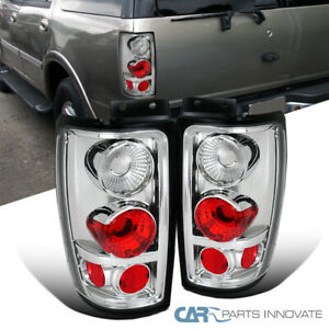 97 02 Ford Expedition Clear Lens Parking Tail Lights Rear Brake Lamps Left right