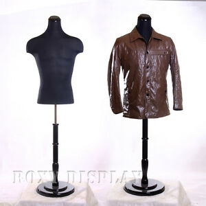 Male Mannequin Manequin Manikin Dress Form 33dd02 jf bs r02b