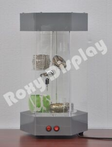 Acrylic Display Tower Case Small Items Display Show Case ad h5027sl jw