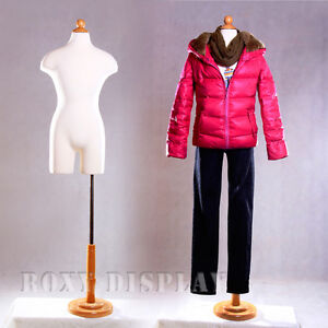Children Foam Form Mannequin Manequin Manikin Dress Form Display 11c12t jf