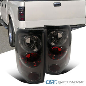 Fit 04 08 Ford F150 F 150 Styleside Pickup Smoke Tail Lights Brake Lamps Pair