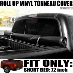 Lock Roll Up Soft Tonneau Cover 94 03 Chevy S10 S15 Sonoma 96 00 Hombre 6 Bed