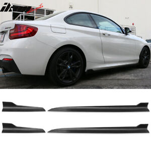 Fits Bmw E36 E46 E92 E60 F10 F30 F22 Side Skirts Rocker Panels 4pcs Pp