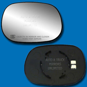New Mirror Glass With Backing Heated Dodge Truck Suv Van Passenger Right Side