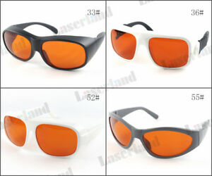 Gty Uv Green 532nm Od6 1064nm Nd yag Od5 Laser Protective Goggles Safety Glasses