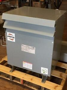 75 Kva Hammond Sg3a0075kb Hps Sentinel G Distribution Transformer 480v 3ph Used