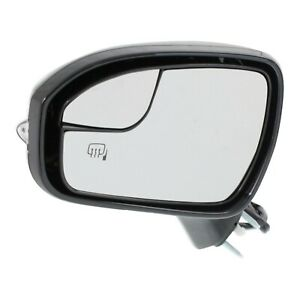 Power Mirror For 2013 2016 Ford Fusion Left Manual Fold With Memory Paintable