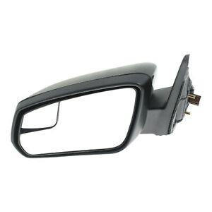 Power Mirror For 2011 2012 Ford Mustang Left With Blind Spot Glass