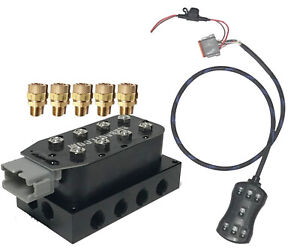 Air Suspension Kit Accu Rate 1 4 Air Manifold Smartride Controller For Air Bags