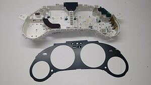 93 97 Del Sol Oem Instrument Gauge Cluster Housing 5 speed Circut Board Case Si