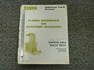 Hyster H60xl Forklift Lift Truck Owner Operator Maintenance Manual User Guide