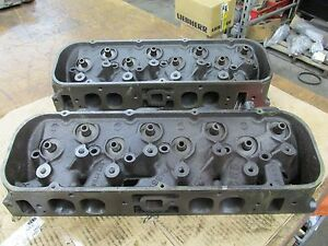 1966 Big Block Chevy 396 427 Oval Port Heads 3872702 702 A 4 6 A 14 6