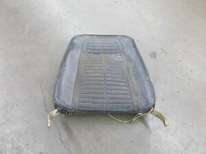 1969 Camaro Bucket Seat Back Only Core To Rebuild Passenger Side