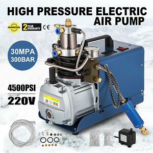 High Pressure Air Pump Electric 300bar Pcp Compressor For Airgun4500psi 30mpa