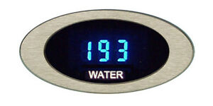 Dakota Digital Oval Ion Series Water Temp Gauge 0 300 f Or 0 150 c Ion 04 1 New
