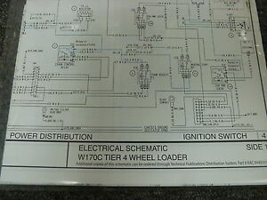 New Holland W170c Tier 4 Wheel Loader Electrical Wiring Schematic D