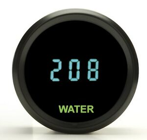Dakota Digital 2 1 16 Round Universal Water Temperature Gauge Teal Odyr 04 1