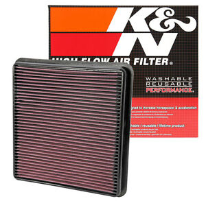 K n 33 2387 Replacement Air Filter 2007 2013 Toyota Tundra 2008 2013 Sequoia