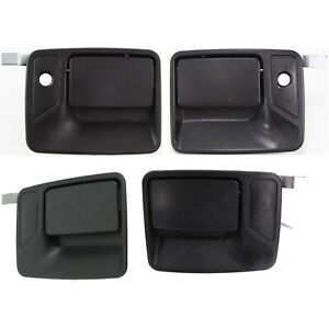 Exterior Door Handle For 99 2016 Ford F 250 Sd Crew Cab 4 Pc Set Front