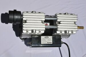 Twin Piston Oil less Vacuum Pump Compressor 5 5cfm Medic Workshop Bagging Milker