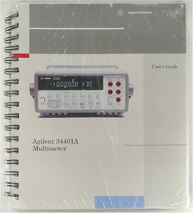 Agilent 34401a Multimeter User s Guide quick Reference service Guide free Ship