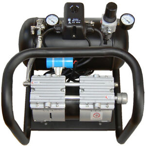 Silentaire Amp 50 8 tc Oilless Compressor 3 4 Hp