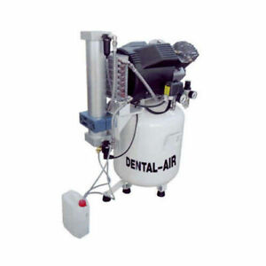 Silentaire Da 3 50 379 Dental Air Compressor With Dryer And Cabinet