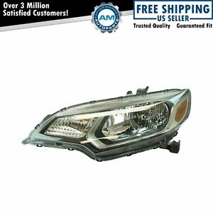 Halogen Headlight Lamp Assembly Lh Lf Driver Side For Honda Fit Brand New