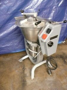 Hobart Hcm 300 30 Qt Vertical Mixer Cutter Chopper 5hp 3 Phase