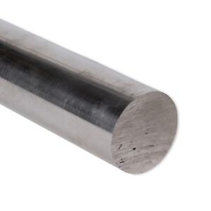 2 Diameter 304 Stainless Steel Round Rod 4 Length Extruded 2 0 Inch Dia