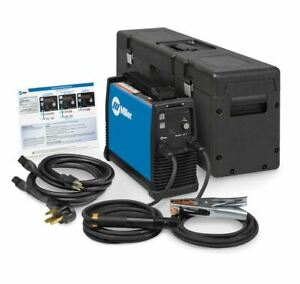 Miller Maxstar 161 S 120 240 V X case Stick Welder Package 907709001