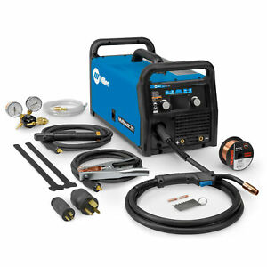 Miller Multimatic 215 Multiprocess Welder W Auto set 907693