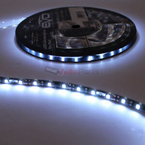 5m Roll Super White Ultrabrights Led Flexible 12v Car Waterproof Light Strip