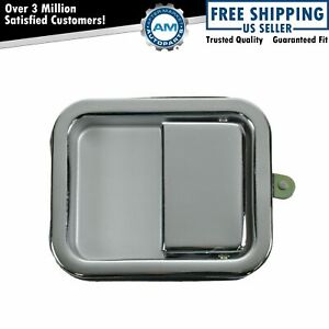 Door Handle Outside Exterior Chrome Passenger Right Rh For Jeep Wrangler Cj7