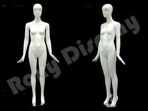Fiberglass Abstract Style Manequin Mannequin Display Dress Form md petite01w