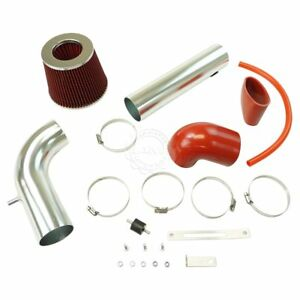 Performance Cold Air Intake Kit W Red Filter For S10 S15 Sonoma Hombre 2 2l New