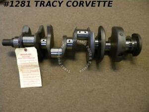 1962 1967 Chevy 327 3782680 Forged Small Journal Crankshaft Fresh Grind 010 010