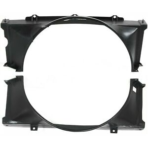 New Set Of 2 Fan Shrouds Upper Chevy Olds S 10 Blazer S10 Pickup Jimmy S15 Pair