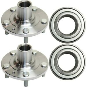 Wheel Hub Kit For 2006 2012 Ford Fusion With Wheel Bearing 4pc