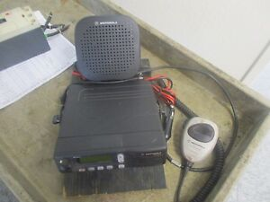 Motorola Model No Mcs 2000 Mobile Radio System No Antenna