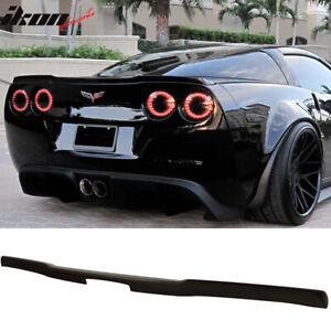 Fits 05 13 Chevy Corvette C6 Zr1 Oe Factory Flushmount Trunk Spoiler Abs