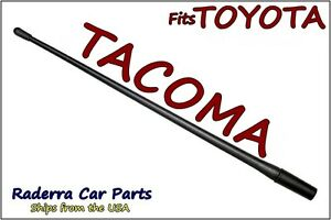Fits 1995 2015 Toyota Tacoma 13 Short Custom Flexible Rubber Antenna Mast