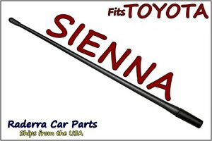 Fits 1998 2015 Toyota Sienna 13 Short Custom Flexible Rubber Antenna Mast