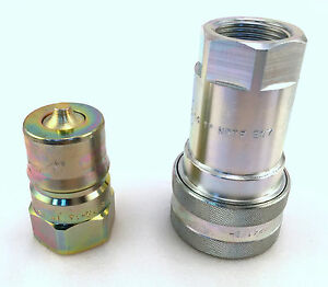 Nos Iso 1 Hydraulic Quick Disconnect Coupler Iso Qd Tip
