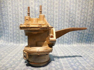 1960 Edsel Ford V8 1961 Mercury Nors Fuel Vacuum Pump 3461 see Detailed Ad