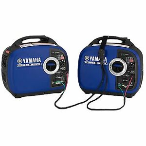 Rv Yamaha Two Ef2000isv2 2000 Watt Generators Ef2000is Ef2000 Parallel Kit I